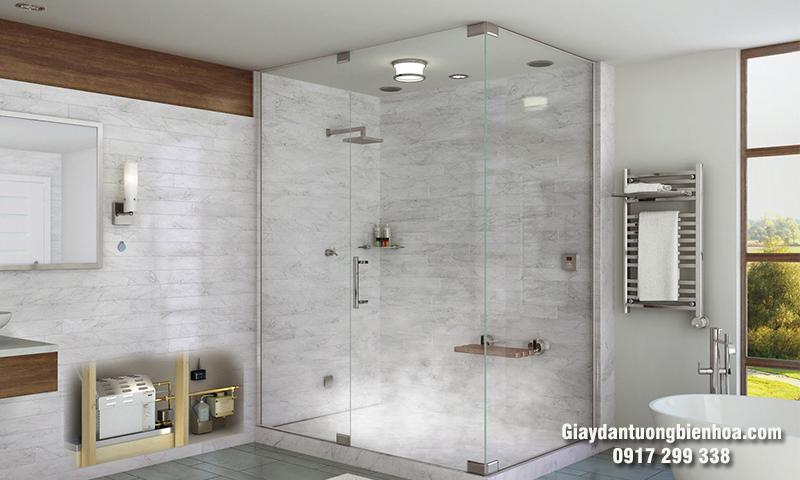 Chọn mua tấm nhựa ốp tường nhà tắm chất lượng